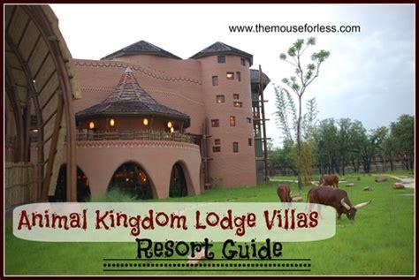 disney s animal kingdom villas guide walt disney world