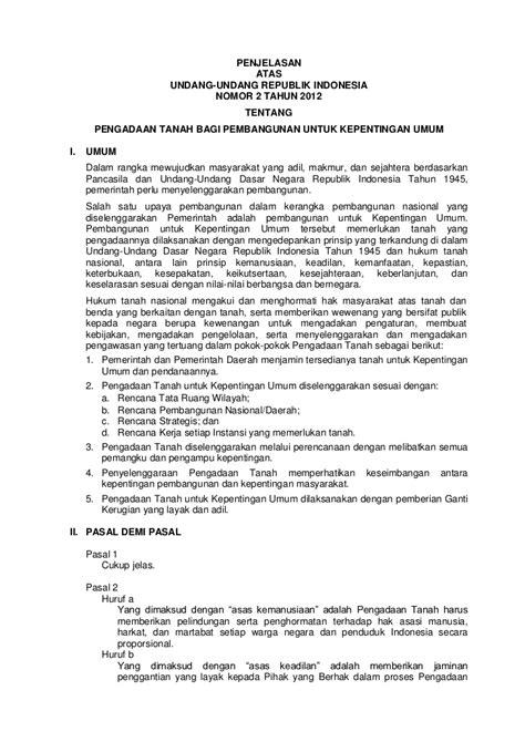 Buku Implementasi Prinsip Kepentingan Umum Dalam Pengadaan Tanah Untu undang undang ri no 2 tahun 2012 tentang pengadaan tanah bagi kepen