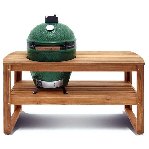 hardwood tables acacia big green egg