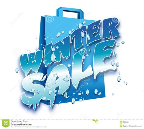 Winter Sale At The Green Directory Shop by Winter Sale Stock Image Image 7599851