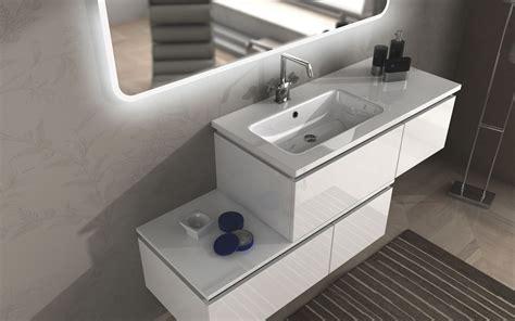 mobile bianco bagno mobile bagno avril cm 100 110 120 130 140 150 160 200