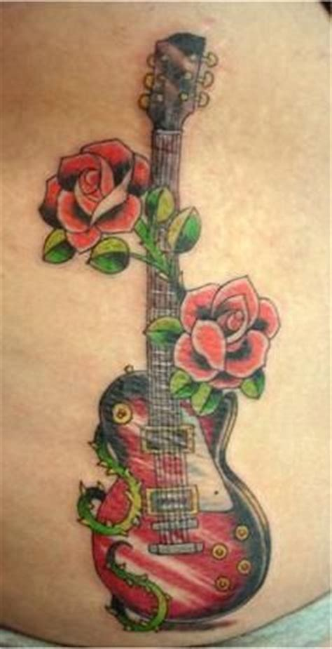 les paul guitar tattoo designs 1000 images about guitar on guitar
