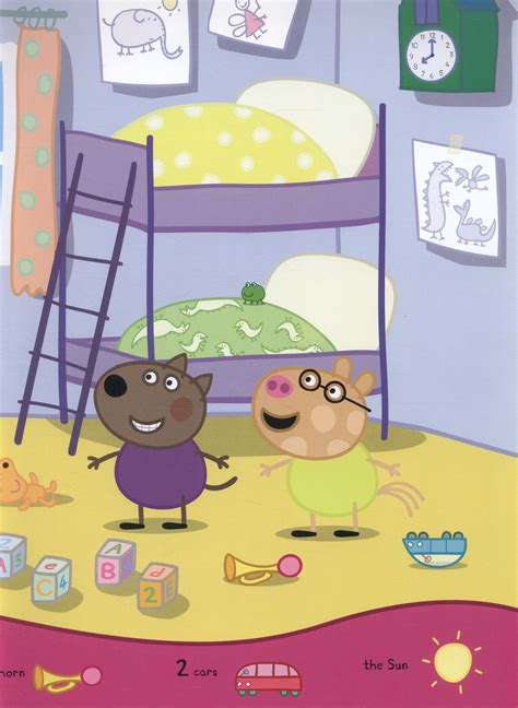 peppa pig hide and 0241289270 peppa pig hide and seek a search and find book by astley neville 9780723293125 brownsbfs