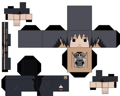 Papercraft Kirito - itachi third shinobi world war by hollowkingking on deviantart