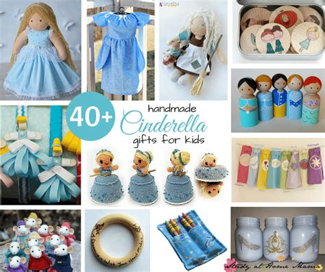 Handmade Childrens Gifts - handmade cinderella gifts for study at home