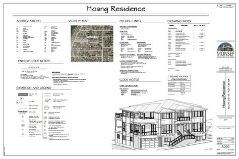 Home Group Wa Design by Monsef Donogh Design Grouphoang Residence Sheet A000
