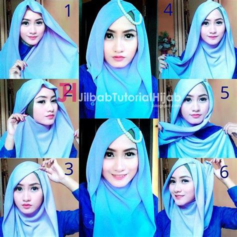 tutorial hijab simple segi empat 1000 ideas about hijab tutorial segi empat on pinterest