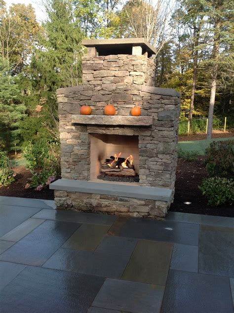 Outdoor Fieldstone Fireplace by 17 Best Images About Outdoor Spaces On
