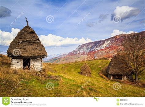redux house in the mountains rustic combined with modern rustic houses royalty free stock photos image 34440988