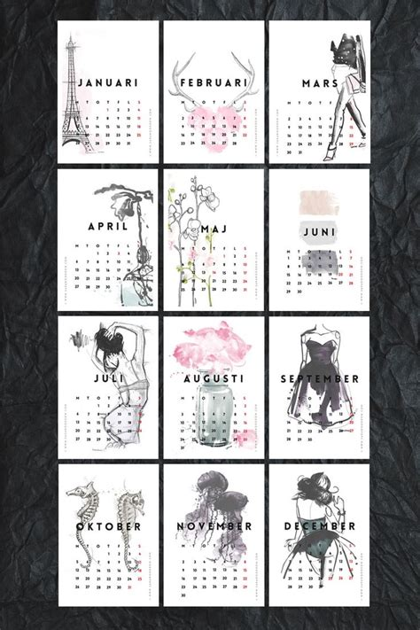 the printable 2015 monthly calendar by shiningmom com is here
