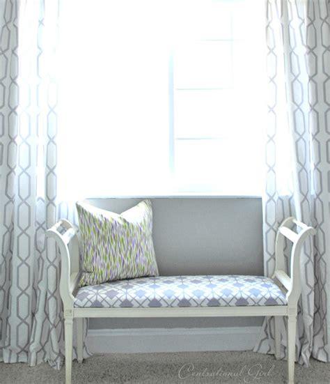 geometric pattern window panels simple ring top window panels centsational girl
