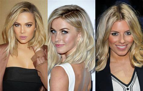 blonde celebrity hairstyles celebrity inspiration medium blonde hairstyles