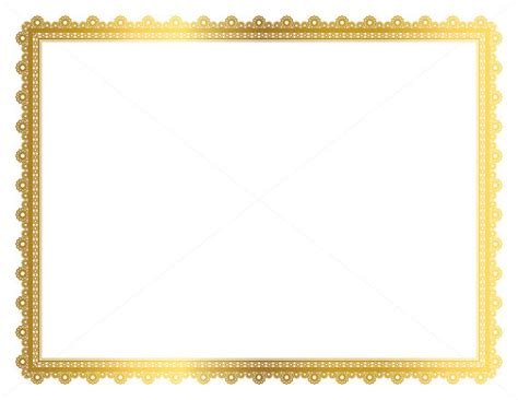 Border Gold gold decorative frame page border digital frame border