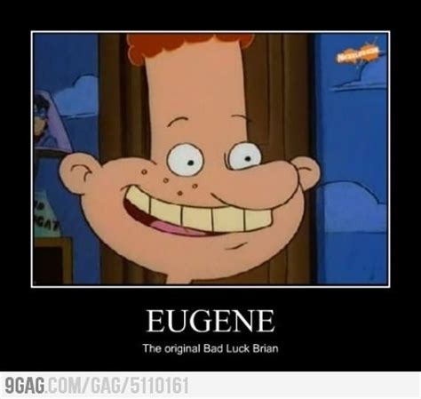 Hey Arnold Memes - bad luck eugene heh heh d pinterest hey arnold