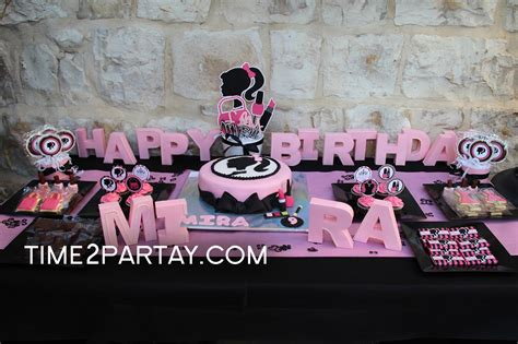 makeup themed party a fashion makeup themed birthday party time2partay com