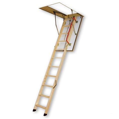 fakro attic ladder wooden lwf 25x54 300 lbs