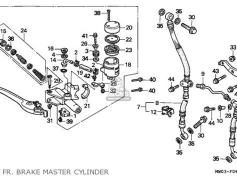Cylinder Kit Amoshita Motor Honda Blade honda cbr900rr blade 1992 netherlands parts list