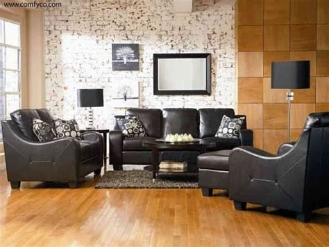 Faux Leather Living Room Furniture Top 5 Wonderful Modern Faux Leather Living Room Sets On