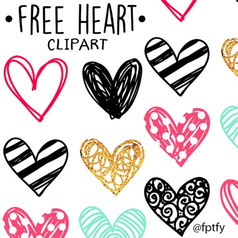 free doodle hearts free doodle clip free pretty things for you