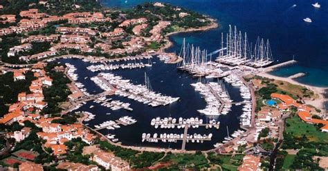 sardegna porto rotondo superyachts moored in porto rotondo in sardinia in the