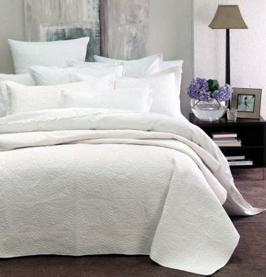white king coverlet monaco coverlet queen king white by linen house new