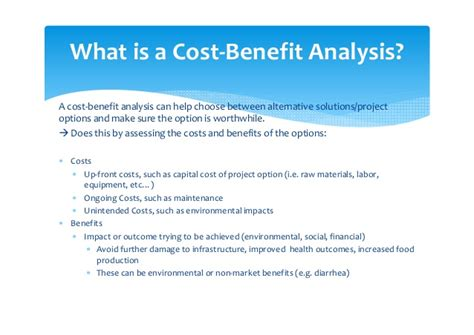 project cost benefit analysis template incorporating cost benefit analysis into af project