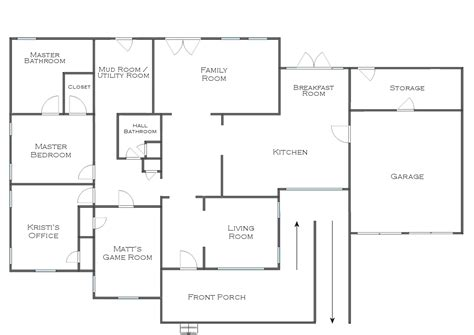 New House Plans With Interior Pictures | house floor plans photo gallery of floor plan of house