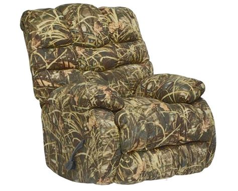 realtree camouflage rocker recliner duck dynasty flat rock chaise rocker recliner in realtree