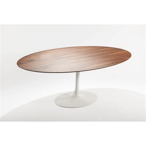 oval wood dining table tulip oval wood table replica