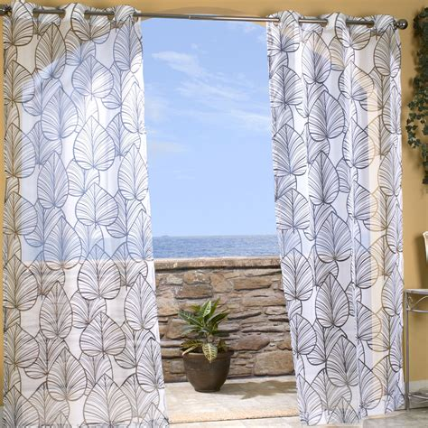 outdoor waterproof curtains pretty indoor outdoor curtains homesfeed