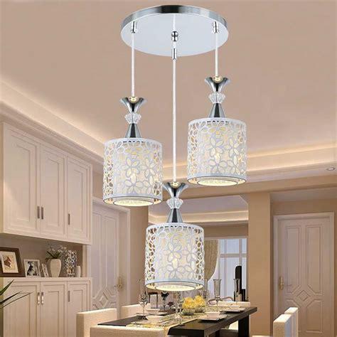 lamparas led de techo hechas cristal modernas  sala de