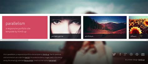 html5 photography template 105 free premium responsive portfolio website templates
