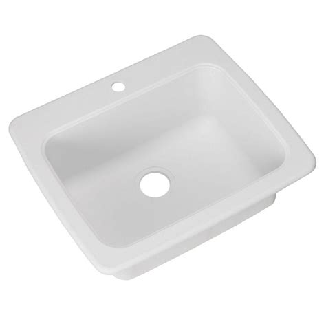frankeusa sinks swan dual mount composite 25 in 1 single bowl