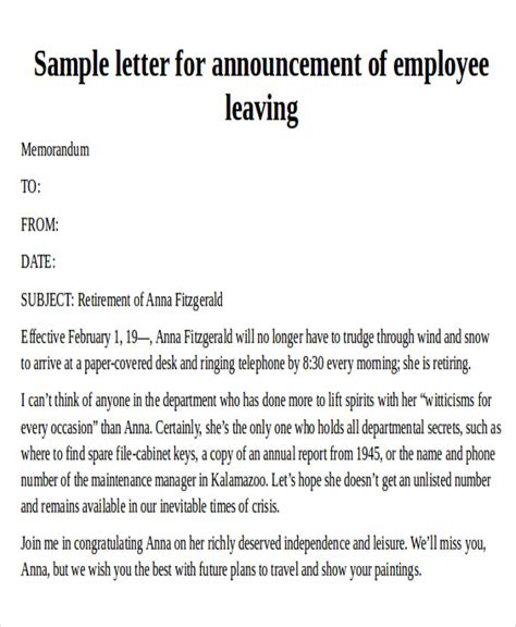 Reference Letter For Departing Employee Reference Letter Formats