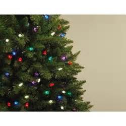 7ft northern lights spruce christmas tree holidays begin