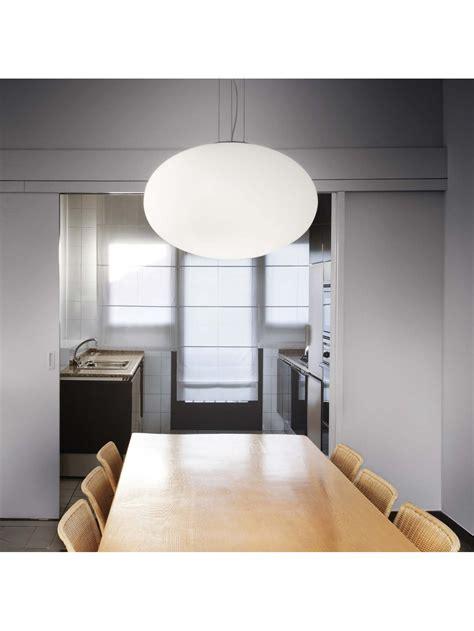lade da soffitto economiche ladario moderno in vetro bianco 1 luce d 50