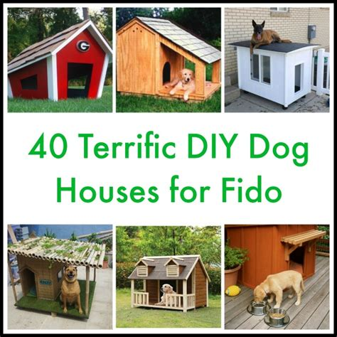 how to make a big dog house 40 terrific diy dog houses for fido