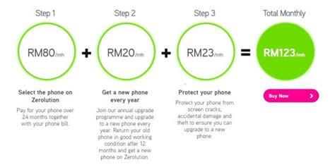 maxis kini menawarkan iphone 7 dibawah pelan zerolution tukar iphone setiap tahun amanz
