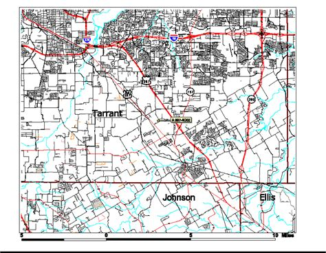 fort worth texas zoning map locator map txdot mapping with parcel boundary highlighted