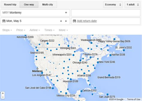 google flights map reveals  airfare deals loyalty