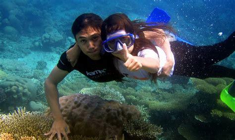 film dokumenter bawah laut pantai derawan pesona surga bawah laut yang begitu indah