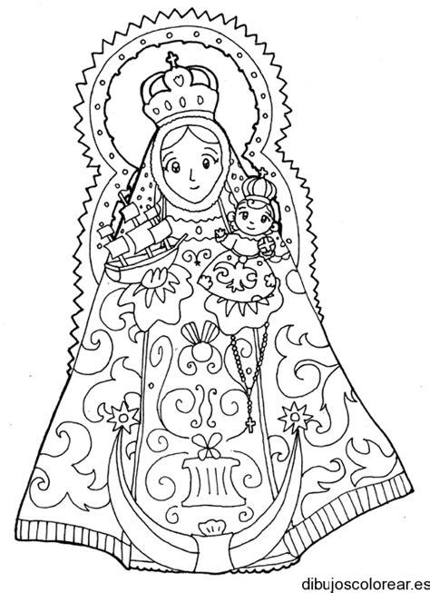 dibujo de la nuestra seora de guadalupe virgen de dibujos infantiles de la v 237 rgen de guadalupe para colorear
