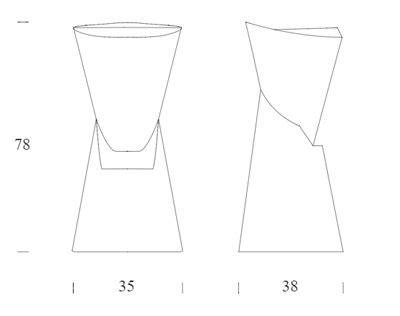 misure sgabello sgabello tonin casa modello batik arredare moderno