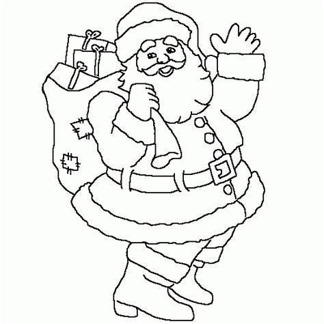santa bag coloring page free coloring pages of easy draw santa with sack