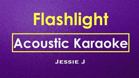 jessie j karaoke flashlight jessie j karaoke acoustic guitar karaoke