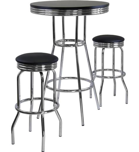 Bar Table And Stool Set by Diner Table And Stools In Bar Table Sets