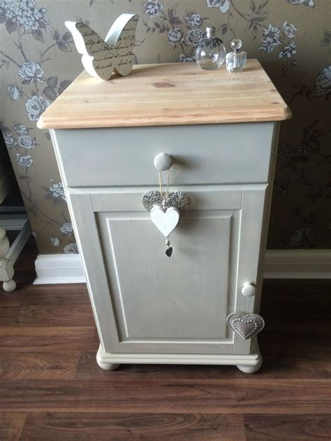 shabby chic bedside ls shabby chic solid pine bedside cabinet side table l