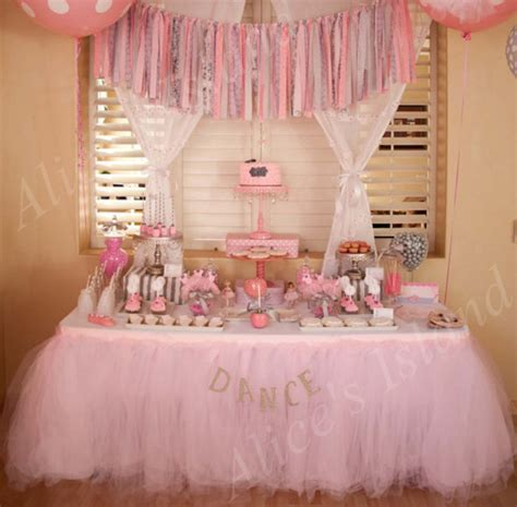 Organza Tulle Table Skirt DIY Fabric Spool Tutu Party