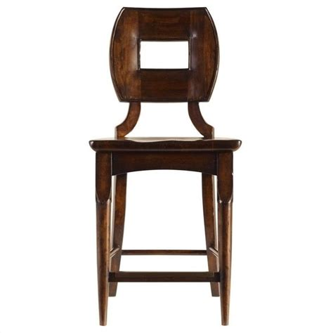 Wood Counter Stools by Stanley Furniture Artisan Wood 23 5 Quot Counter Rel Bar Stool