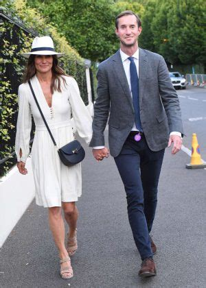 pippa middleton husband pippa middleton with her husband at wimbledon in london